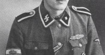 Ewald Ehm, SS-Untersturmführer, Das Reich
