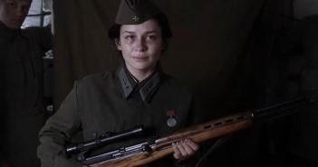 Screenshot from Russian Sniper Movie - Battle for Sevastopol Movie