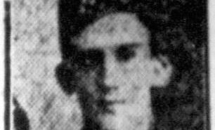 Private John turner died from the effects of gas poisoning