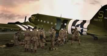 'Mission Albany' Taking off just after midnight 6th June 1944 over 2000 airborne troops would spearhead the D-Day landings by dropping behind enemy lines 5hrs before the first troops got their boots wet on the Normandy beaches.