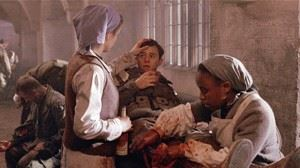 'Nurse Anna', who in real life was Augusta Chiwy, featured in the tv mini series Band of Brothers. (Credits: HBO Studios)