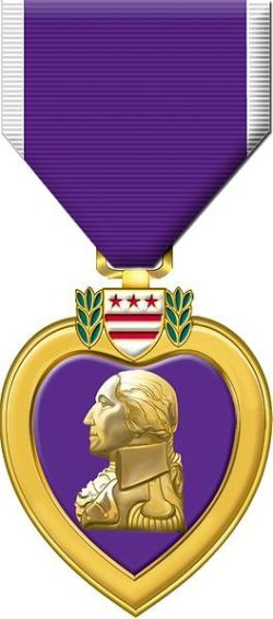 Purple Heart (Credits: U.S. Military)