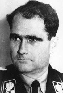 Rudolf Hess (Credits: Bundesarchiv)