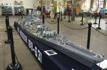 USS Missouri - Largest Lego Battleship