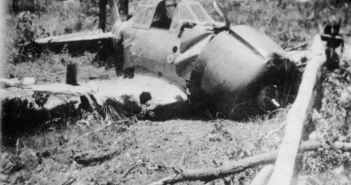 Hajime Toyoshame crash-landed Mitsubishi Zero