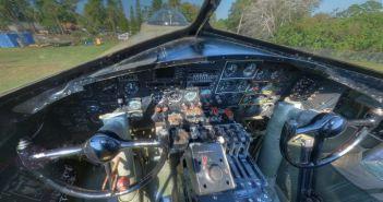 Cockpit of B-17G 'Nine-O-Nine' (Credits: VintageTin)