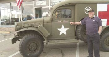 Vet finds his WWII Ambulance