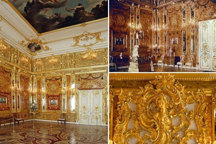 Amber Room (Credits: Public Domain)