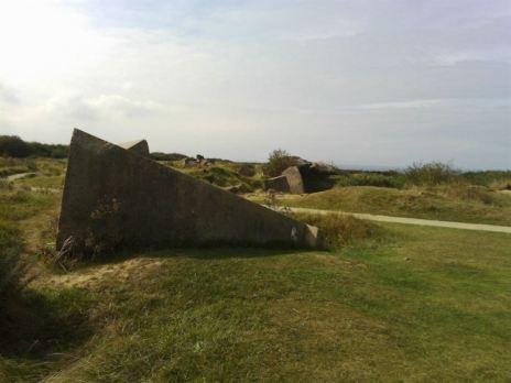 German Bunker at Pointe du Hoc. (Credits: Patricia Gontier)