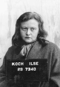 Ilse Koch, taken after her capture.