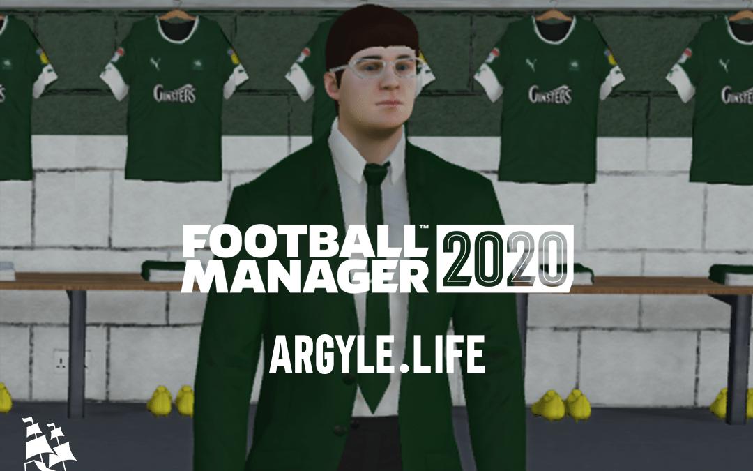 FM20 – An Argyle Journey – Part 5 – FA CUP