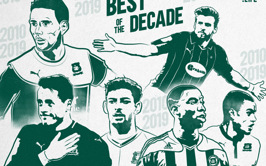 Plymouth Argyle Top 50 – 2010-2019: 40th to 31st