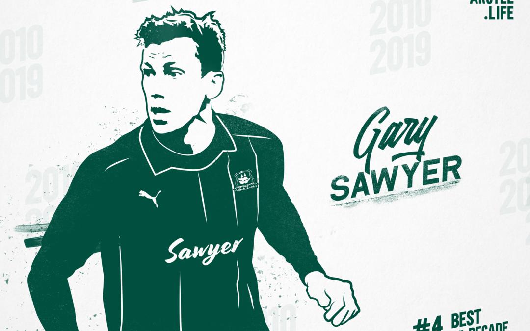 Plymouth Argyle Top 50 – 2010-2019: 4th – Gary Sawyer