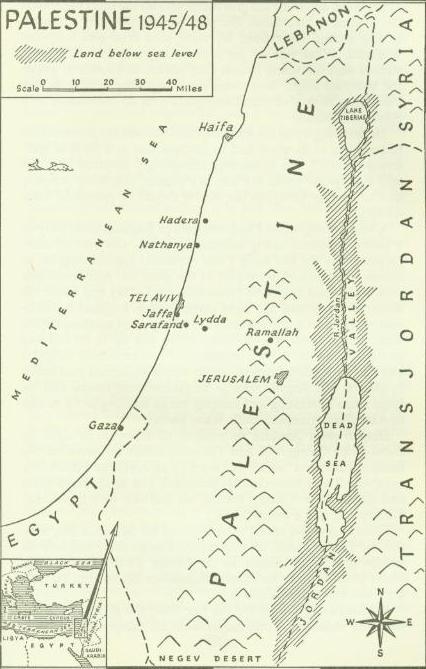 <b>Palestine</b> <b>1945</b> - 1946