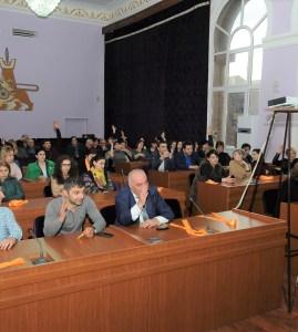Հաշվետու ընտրական ժողով Շենգավիթի ՎՇ ՂԱ արհմիությունում
