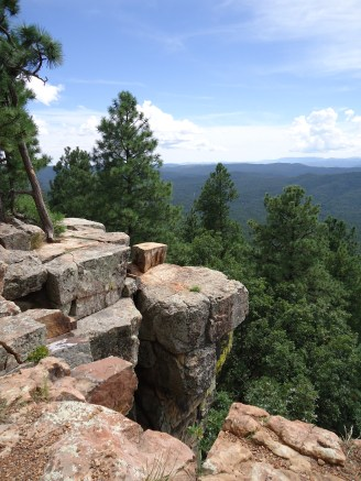 View from the top of Mogollon Rim.