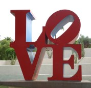 Sculpture by Robert Indiana