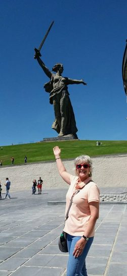'The Motherland Calls' - statue completed in 1967