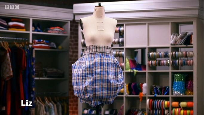 liz puffball skirt