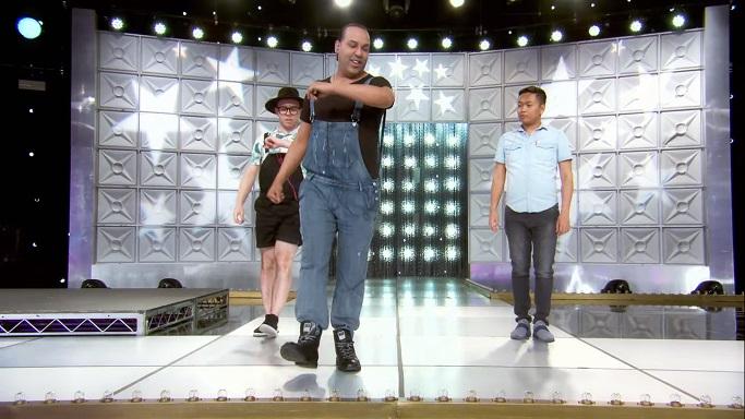 alexis choreographing