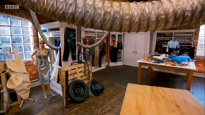 junk sewing room