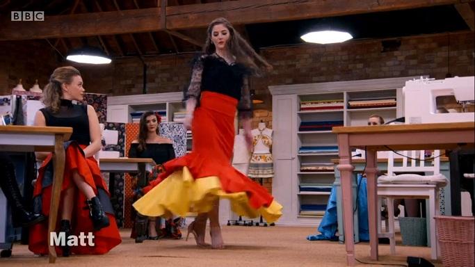 mcdonalds flamenco skirt