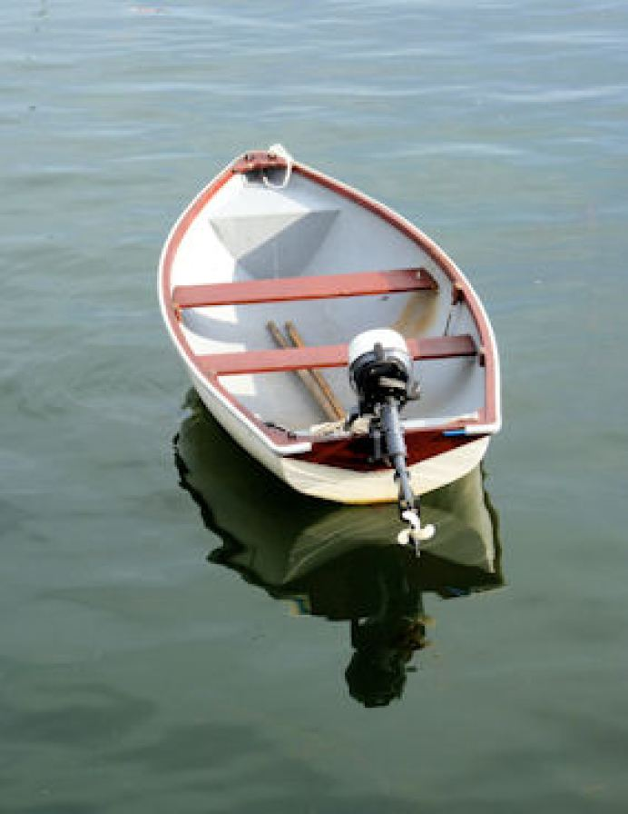Rowboat in the Harbour
