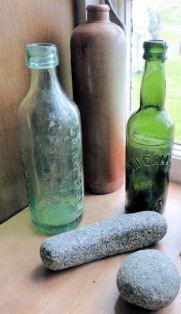 Limpet Hammer & Old Bottles