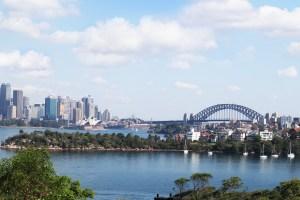 Sydney, photo taken from Waverton
