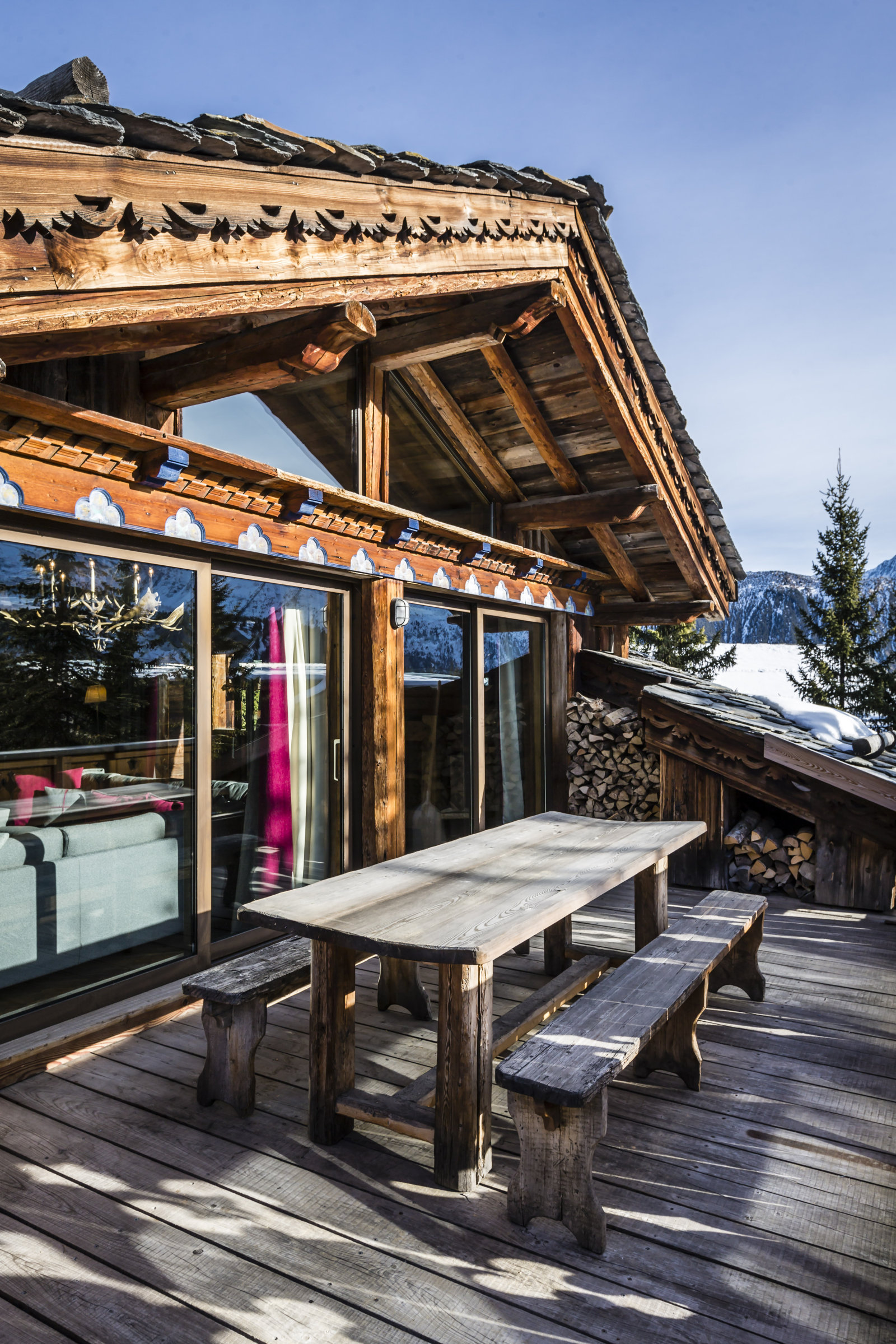 Chalet Laure Luxury Ski Chalet To Rent In French Alps