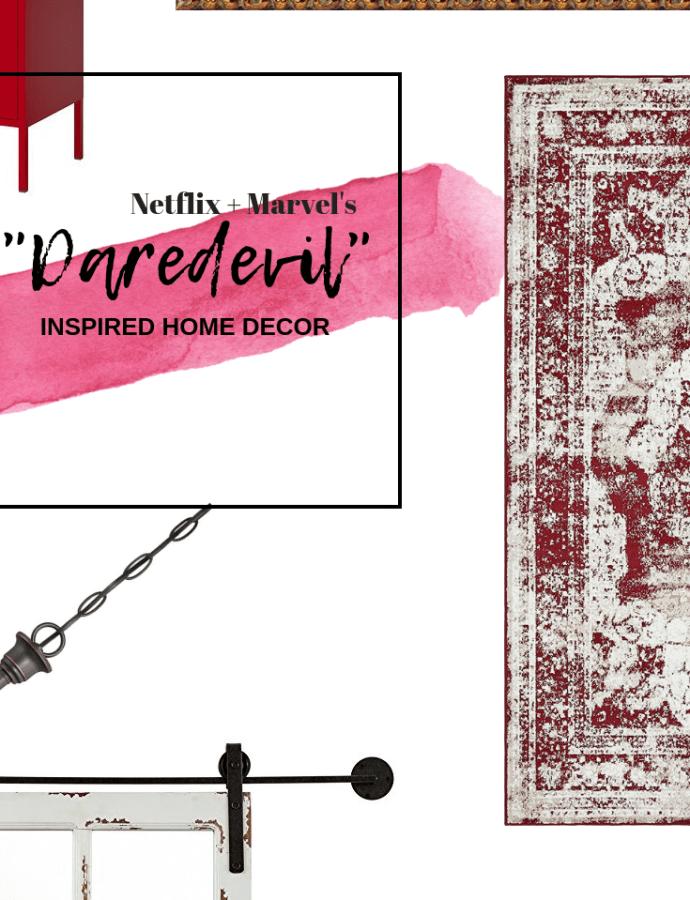 "COPY THIS HOME DECOR | ""Daredevil"" Inspired"