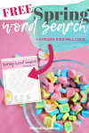 Free Printable Spring Word Search + 4 Prizes Kids Will LOVE