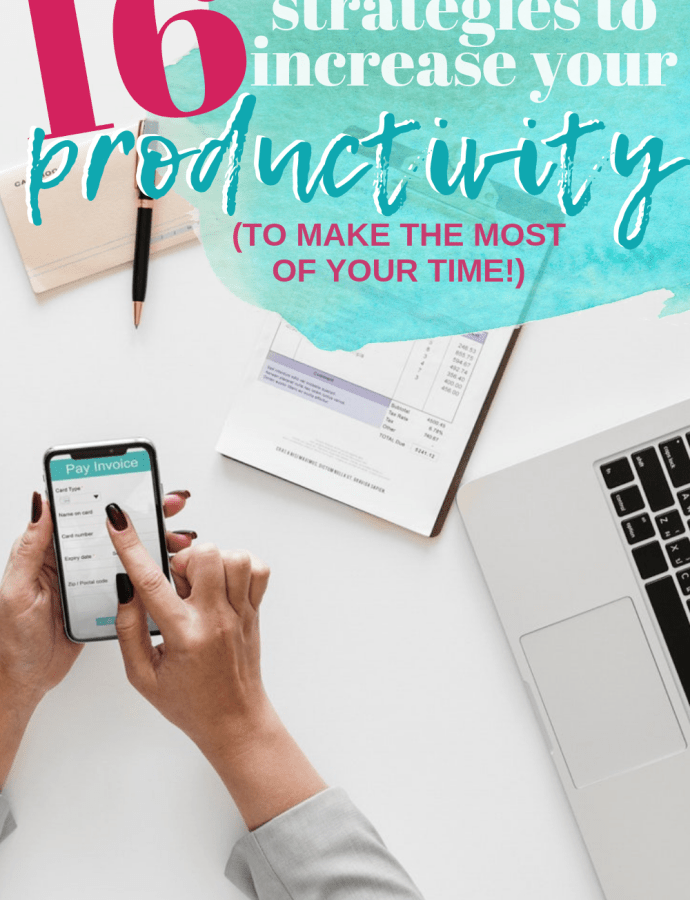 Productivity Roundup: 16 Women Share their Best Tips, Strategies and Tools to Help you Manage Your Workload and Make the Most Out of Your Time