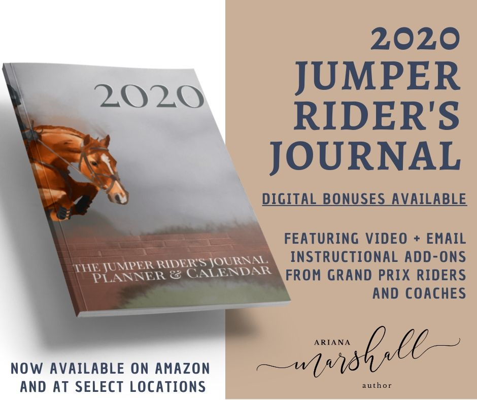 Jumper Rider's Journal Image and Text