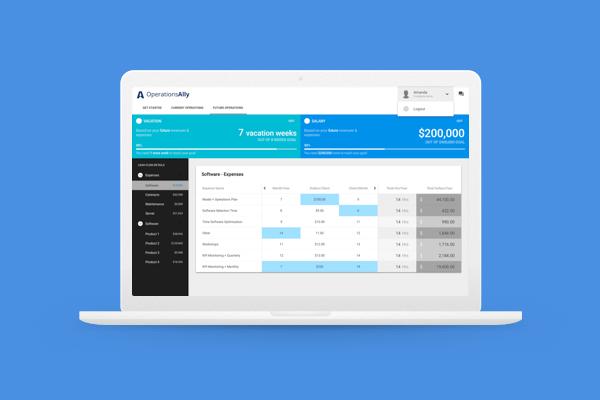 Operations Ally platform design