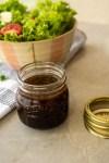 Molho para saladas com aceto balsâmico