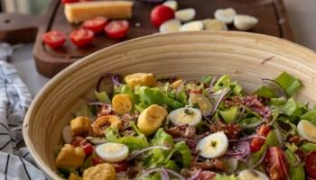 como fazer salada simples e maravilhosa