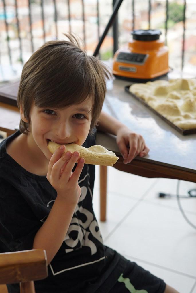 biscoito de polvilho assado