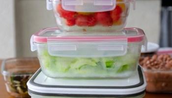 como organizar a geladeira em setores