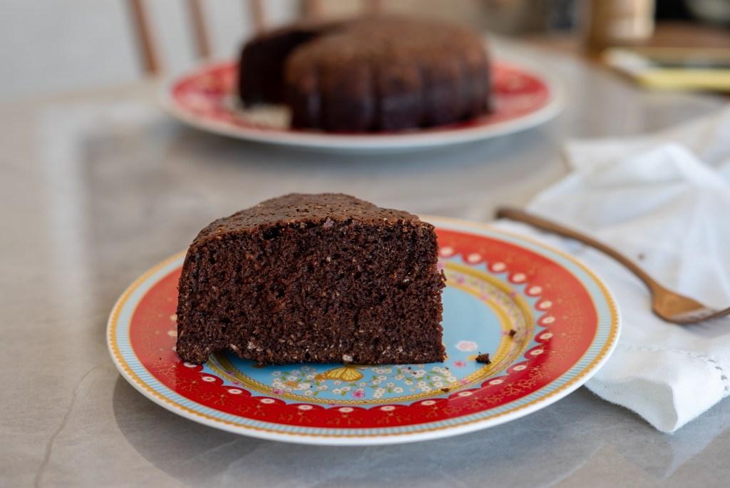 bolo fácil sem farinha de chocolate