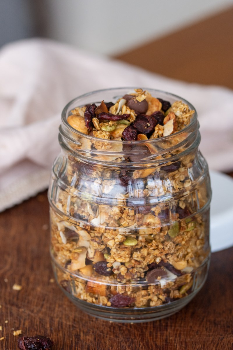 passo a passo para a granola caseira perfeita