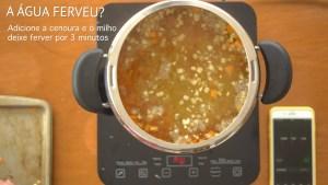 marmita da semana - arroz integral com cenoura e milho