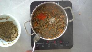 como temperar lentilha