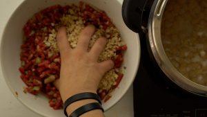 como fazer almondegas para congelar