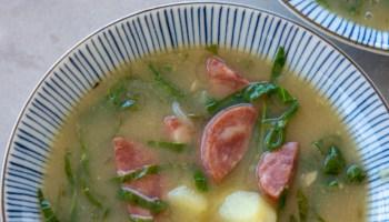 receita de caldo verde portugues