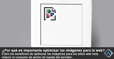 Optimizar las imagenes para subirlas a mi página web