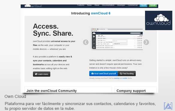 owncloud tu propio servidor en la nube