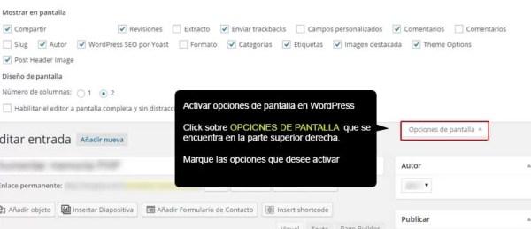 Activar-opciones-de-pantalla-en-wordpress