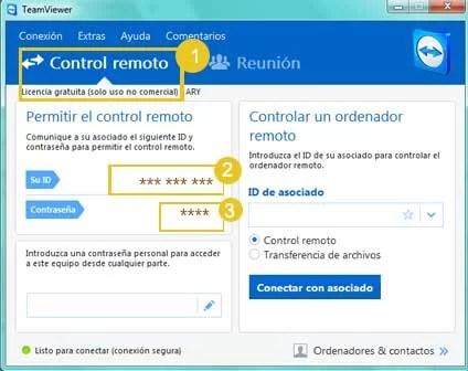 como conectarme por control remoto con team viewer