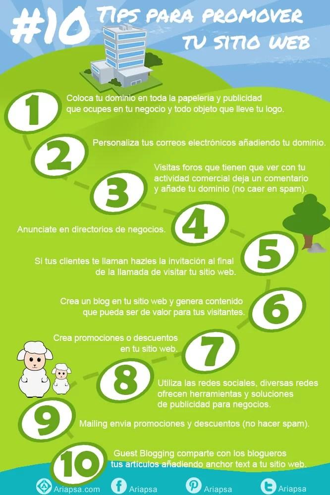 10-tips-para-promover-tu-página-web-Ariapsa-diseño-y-soporte-web-mexico